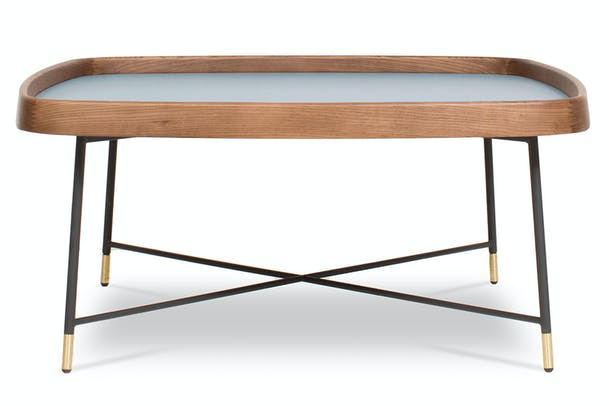 Noel Square Coffee Table | Blue