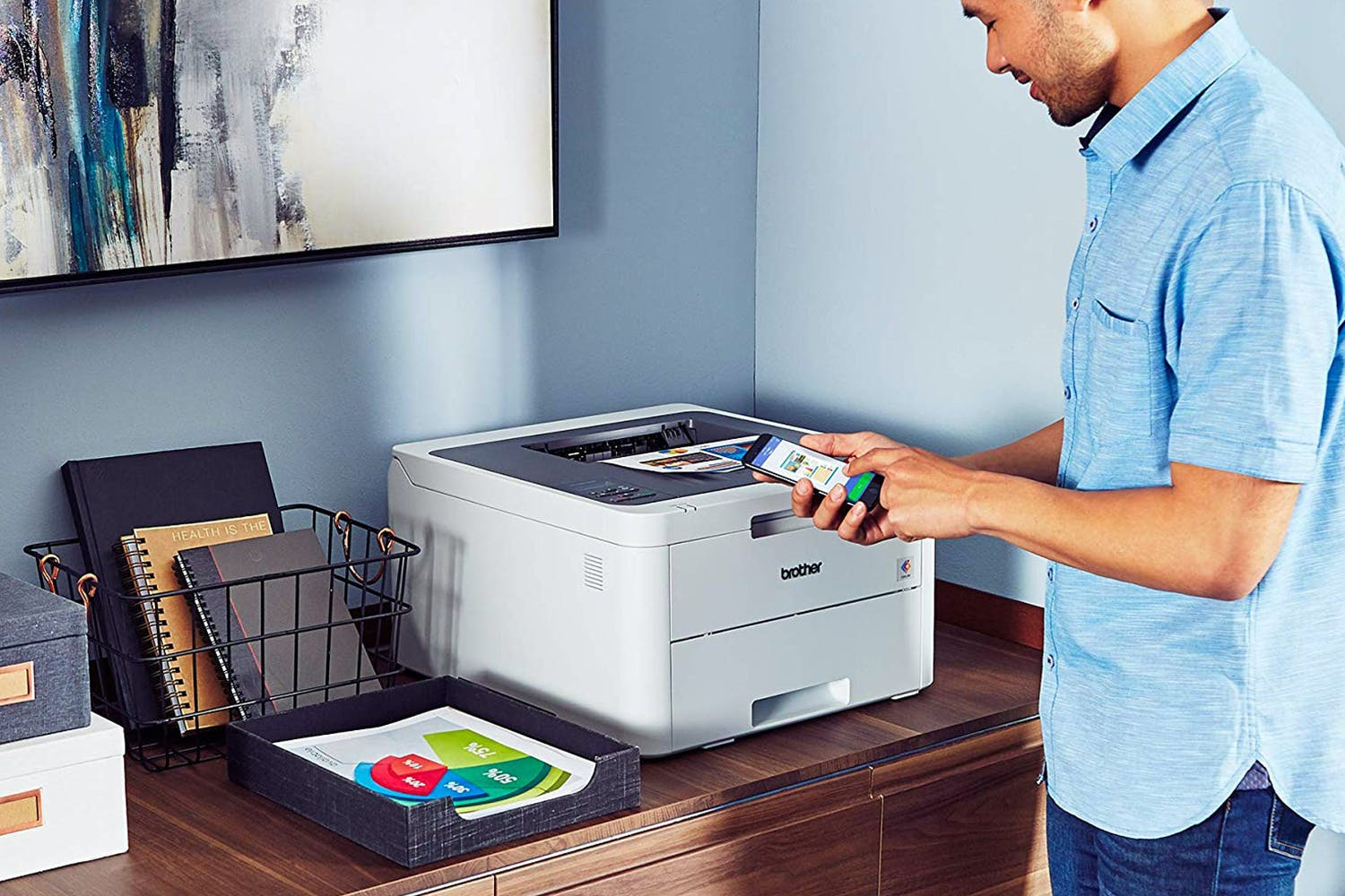 Brother Wireless Colour Laser Printer | HLL3210CW