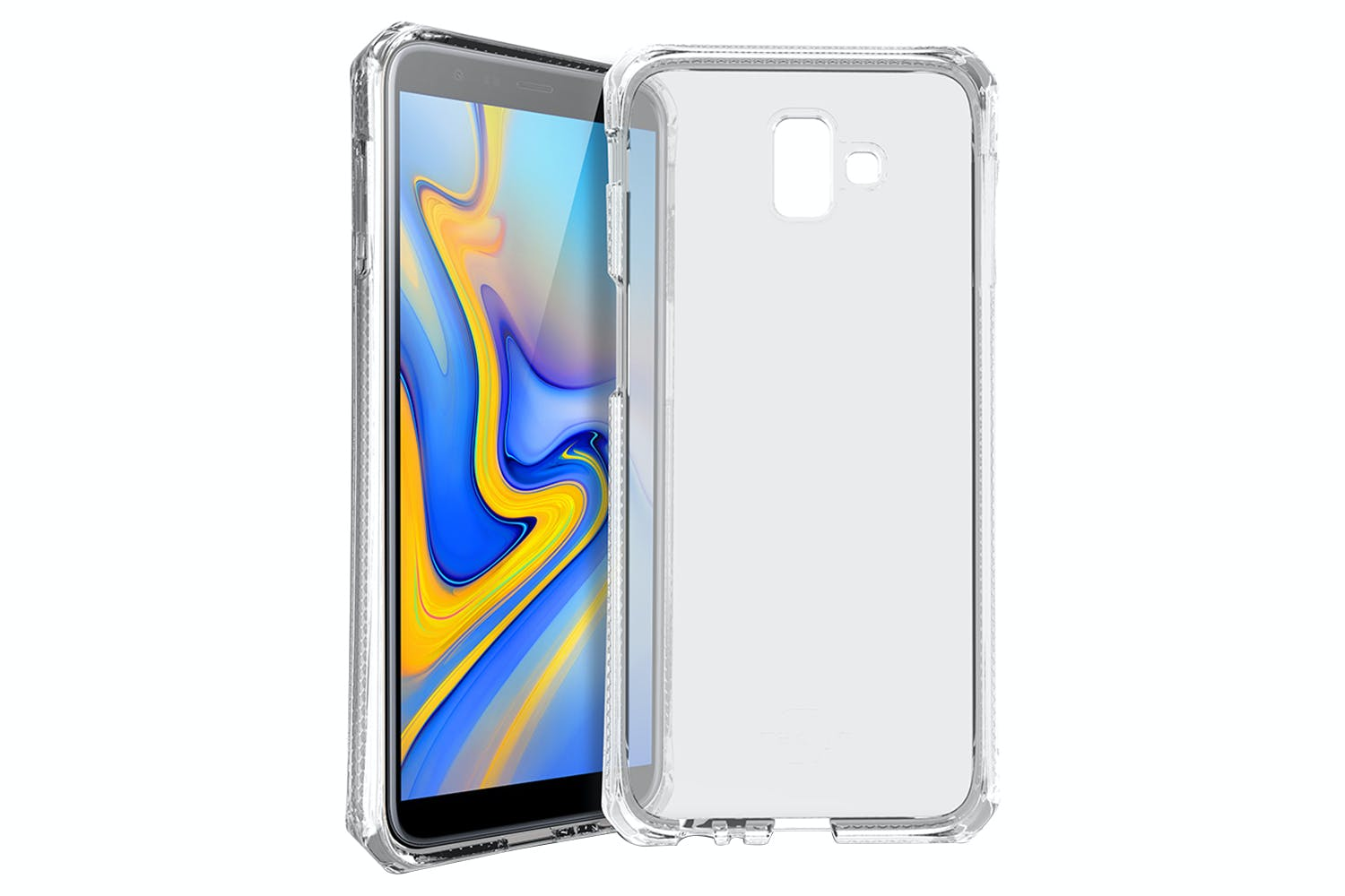 ITSkins Spectrum Samsung Galaxy J6 Plus Case | Transparent