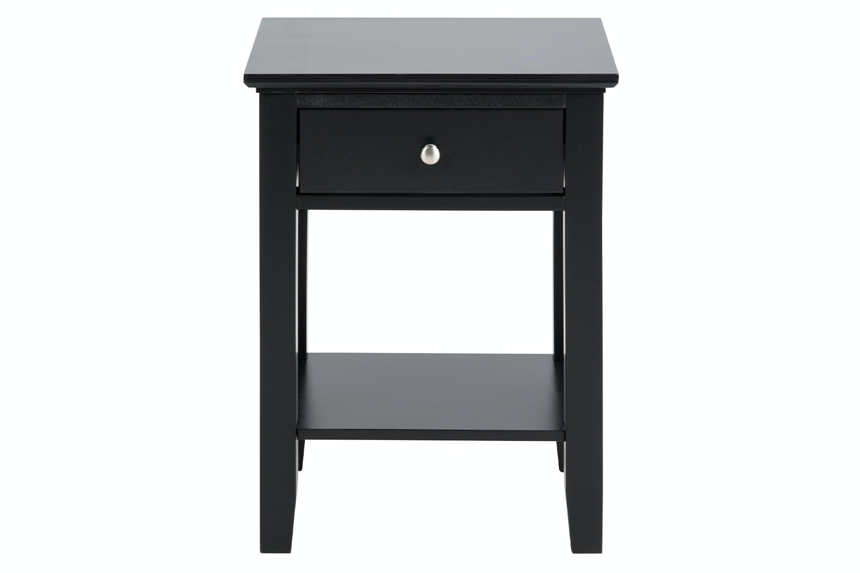 Linnea Bedside Table Black
