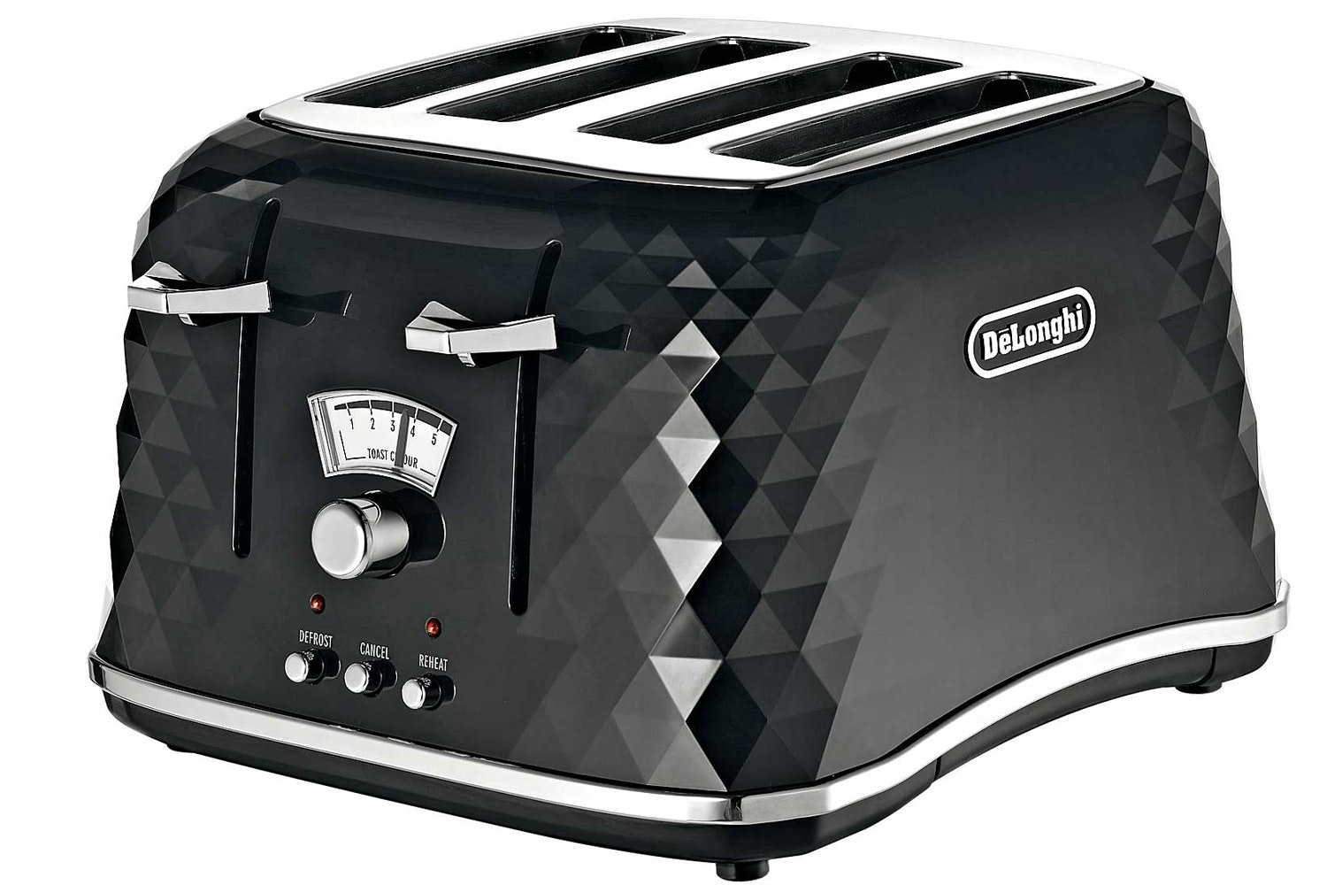 DeLonghi Brilliante 4 Slice Toaster | Black