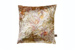 Fern Cushion | Gold/Purple