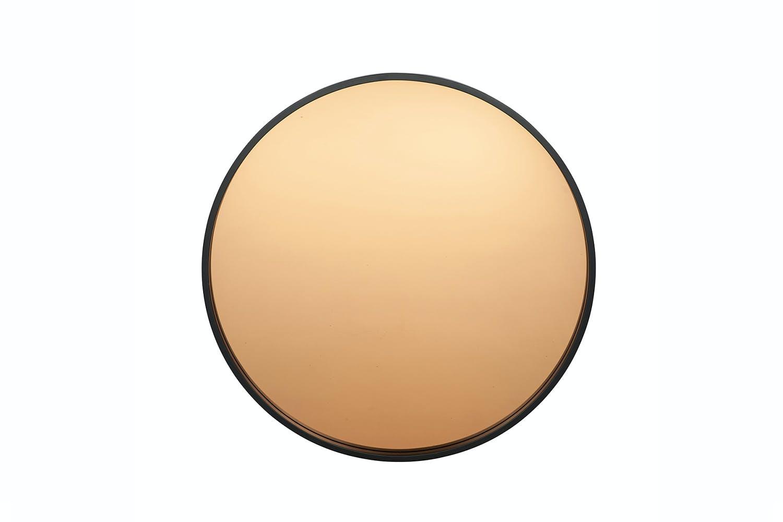 Black Copper Wood Round Wall Mirror Ireland