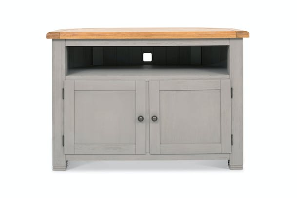 Dawn Corner TV Unit | Grey
