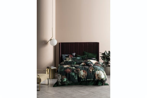 Linen House Winona | Super King Duvet Set | Ivy
