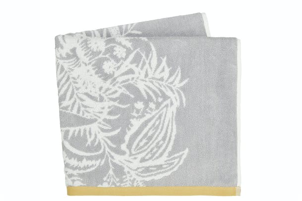 Toco Bath Towel | Silver