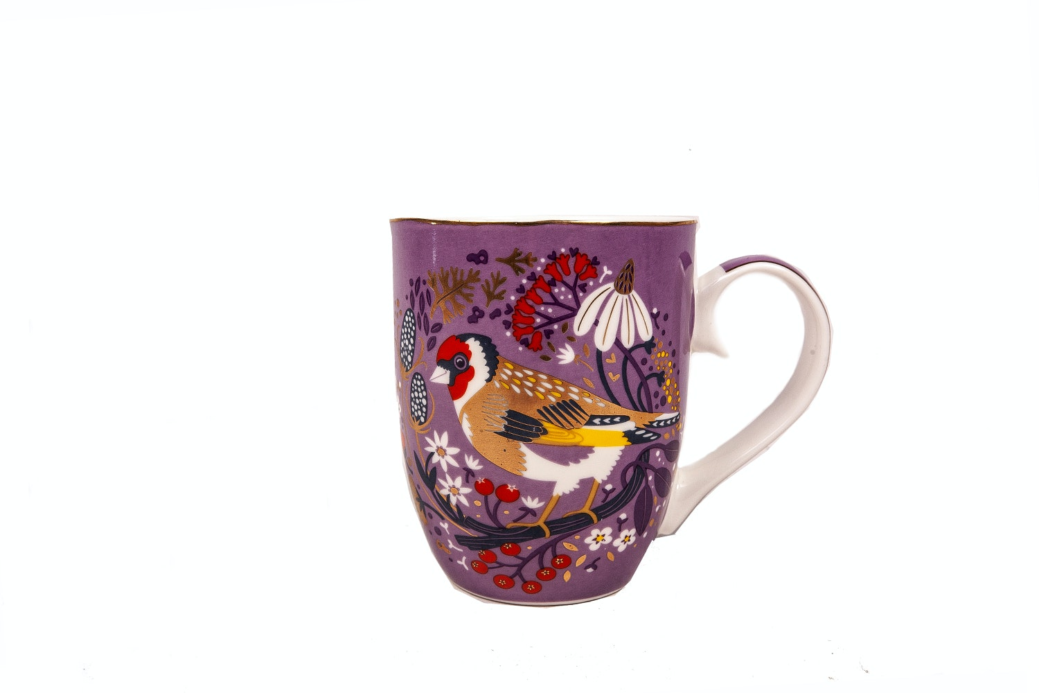 Tipperary Crystal Mug | Single | Birdy | Goldfinch