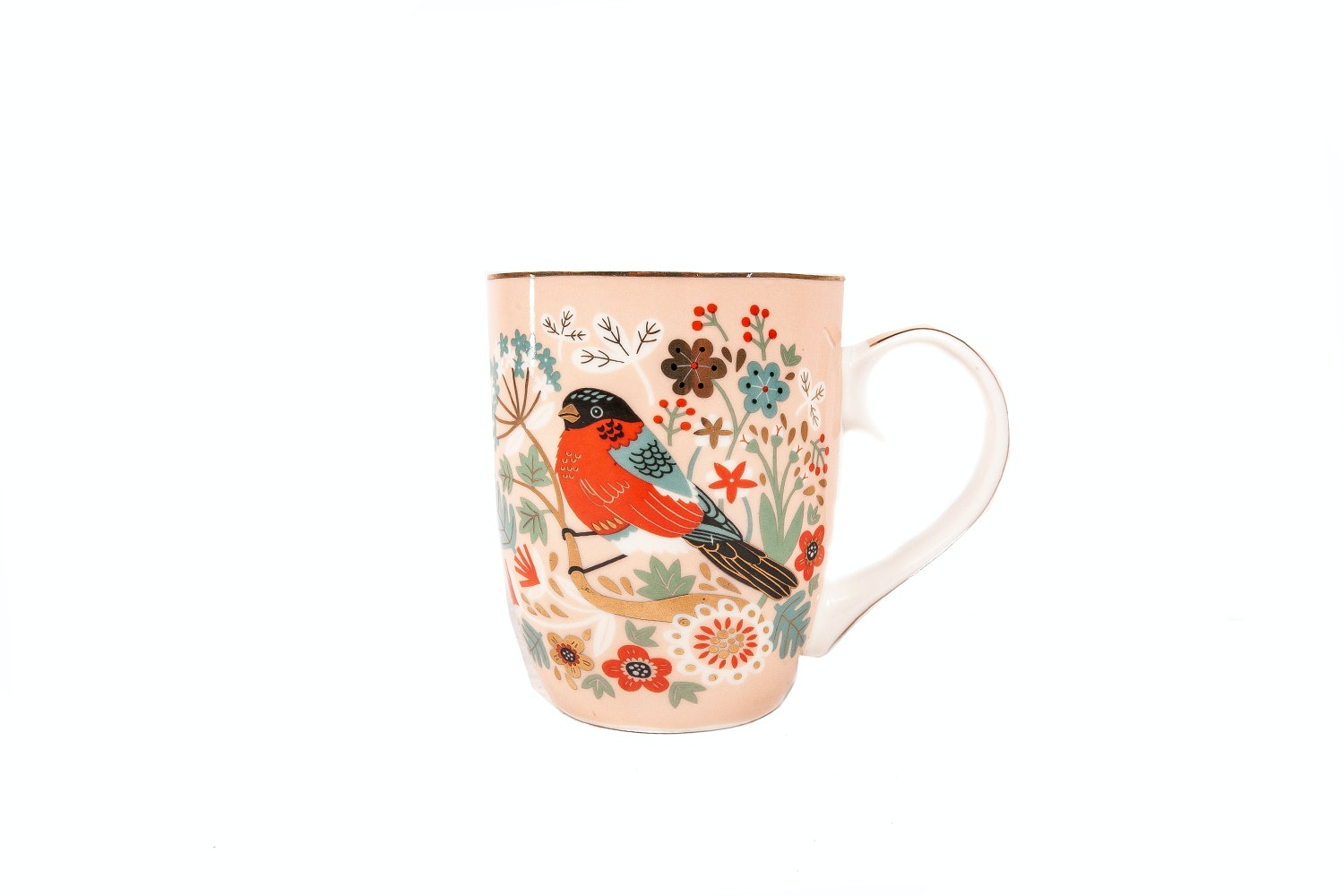 Tipperary Crystal Mug | Single | Birdy | Bullfinch