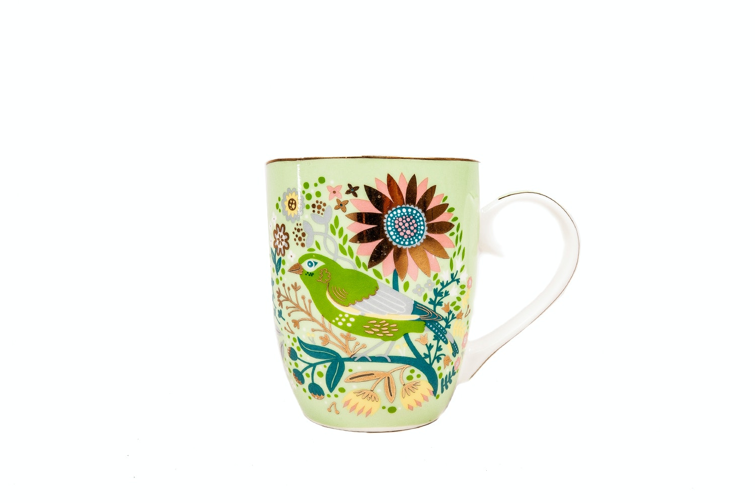 Tipperary Crystal Mug | Single | Birdy | Greenfinch