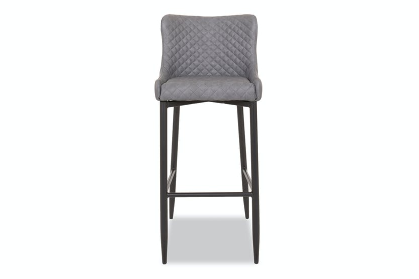 Surprising Saxon High Bar Stool Grey Bralicious Painted Fabric Chair Ideas Braliciousco