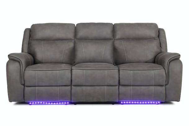 Lisbon HD 3 Seater Recliner | Electric with Console