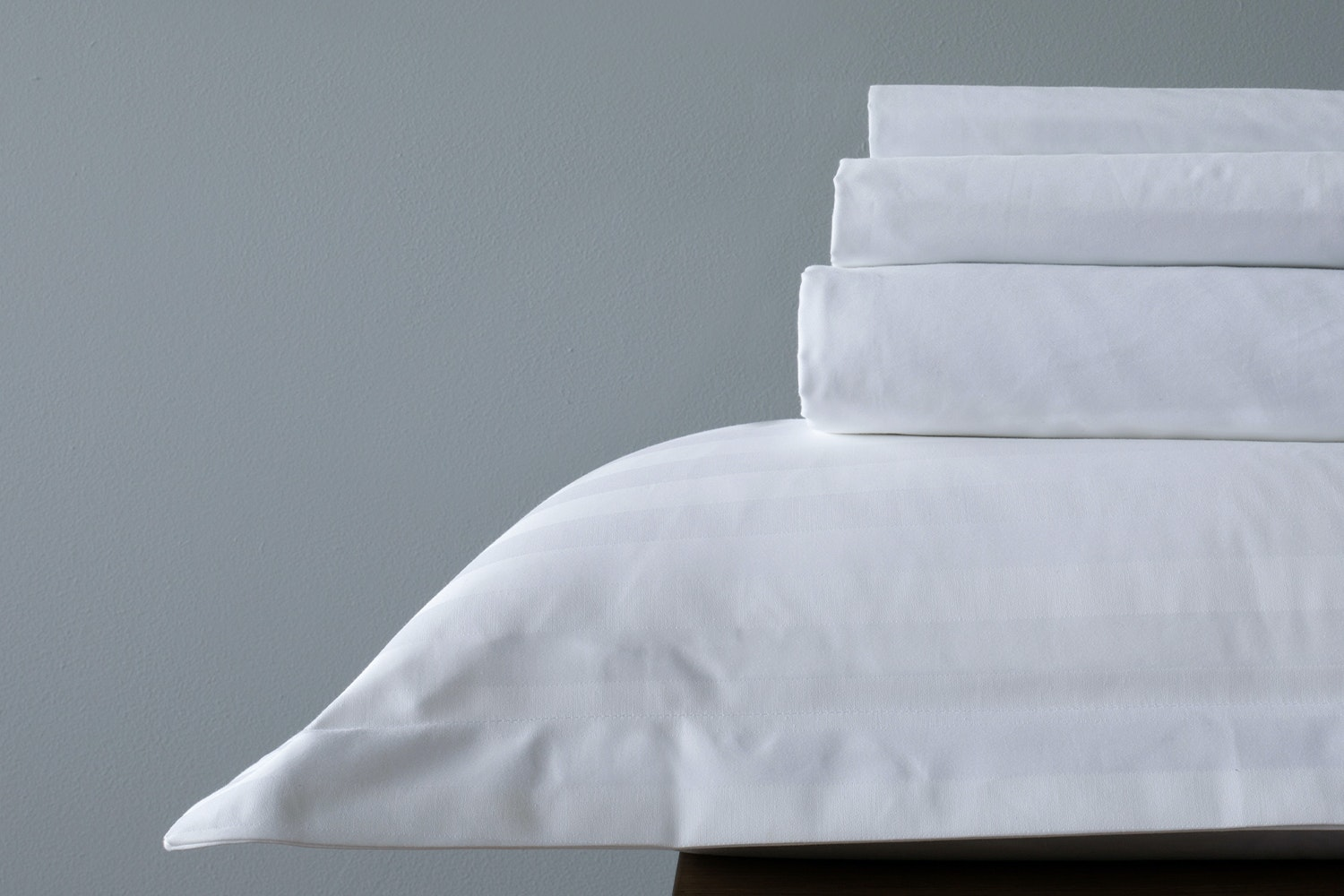Luxury Percale Fitted Sheet | White | Emperor