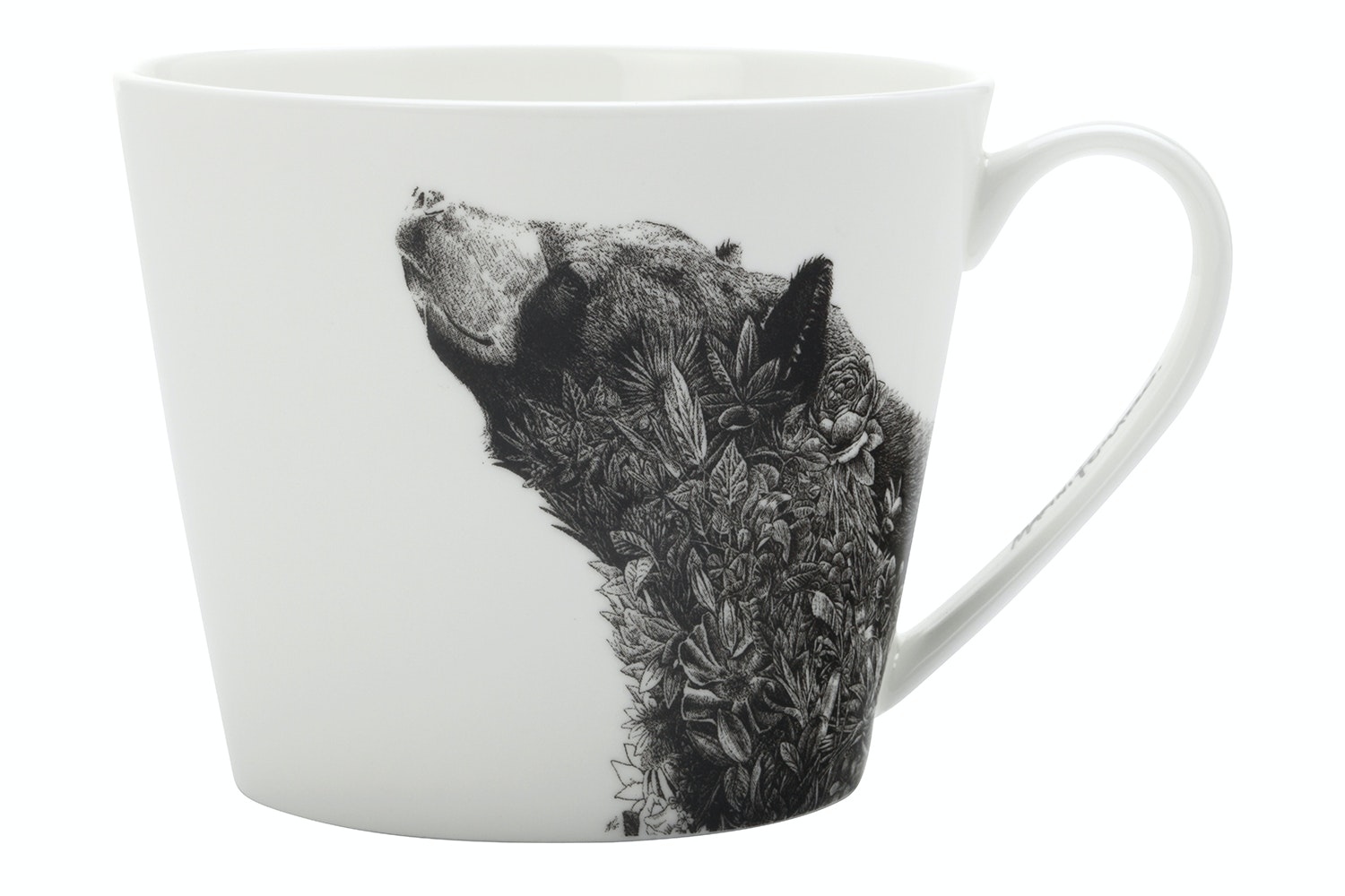 Marini Ferlazzo Wildlife Black Bear Mug