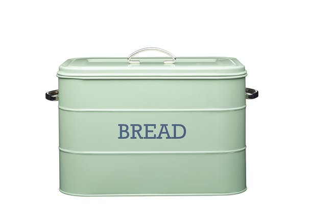 Living Nostalgia Bread Bin | Green