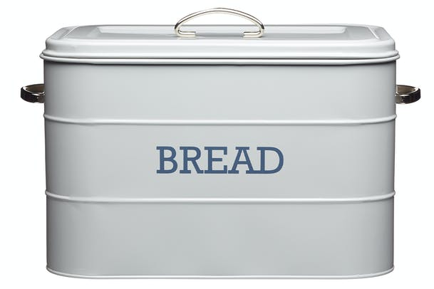 Living Nostalgia Bread Bin | Grey