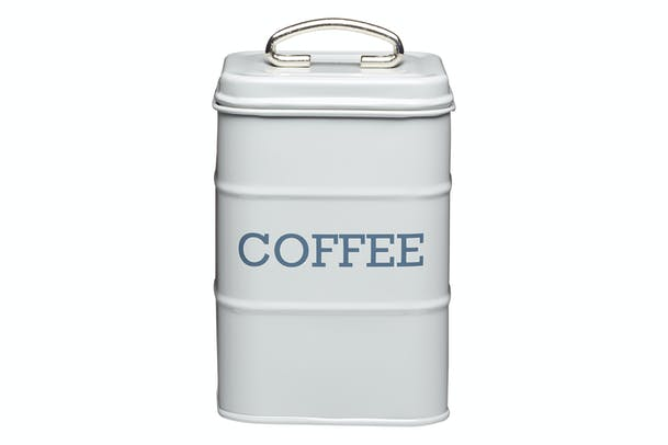 Living Nostalgia Coffee Canister | Grey