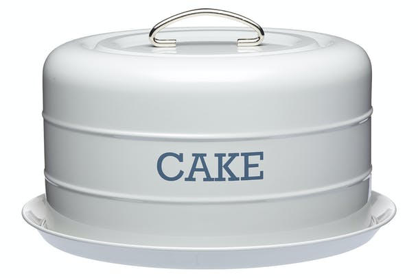 Living Nostalgia Domed Cake Tin | Grey