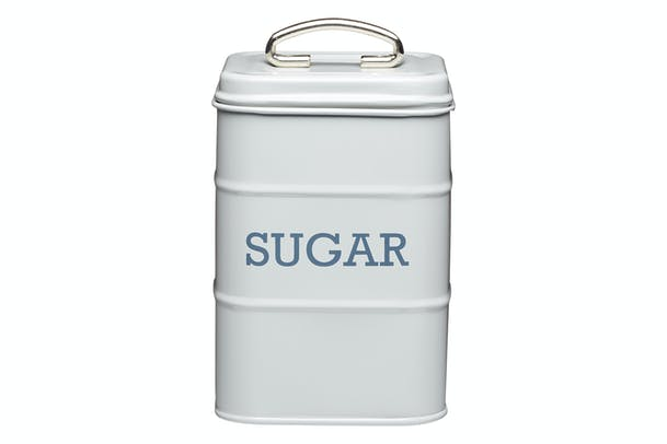 Living Nostalgia Sugar Canister | Grey