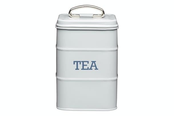 Living Nostalgia Tea Canister | Grey