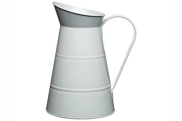 Living Nostalgia Water Jug Enamelled | Grey