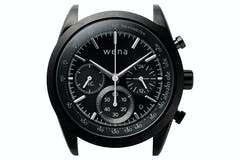 Sony Wena Solar Chronograph Watch Head | Black