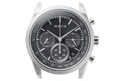 Sony Wena Solar Chronograph Watch Head | Silver