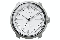 Sony Wena Three Hands Mechanical Watch Head | White