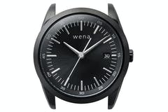 Sony Wena Solar 3 Hands Watch Head | Black