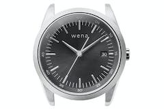 Sony Wena Solar 3 Hands Watch Head | Silver