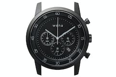 Sony Wena Chronograph Watch Head | Black