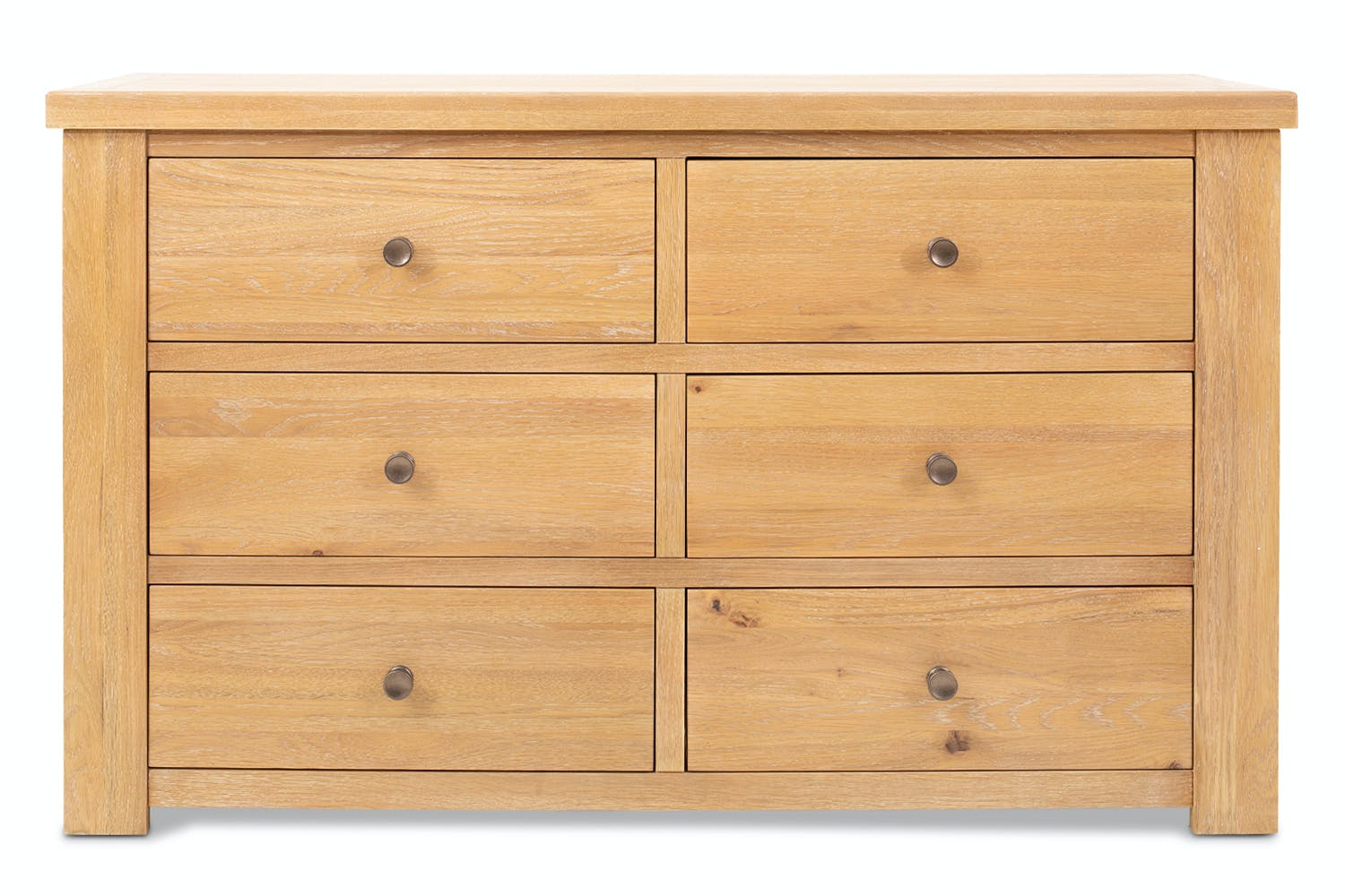 Brexton 6 Drawer Chest | Wide