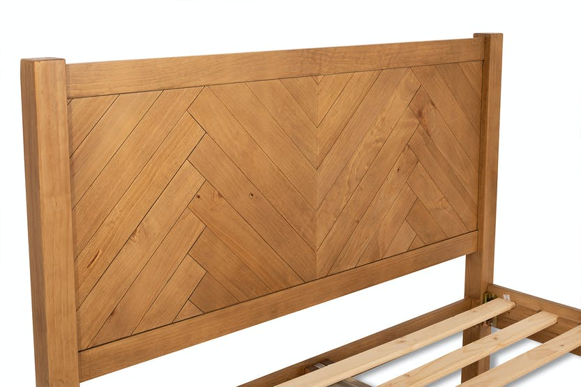 Herringbone Bedframe | 4ft6