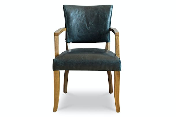 Pryce Carver Chair | Blue