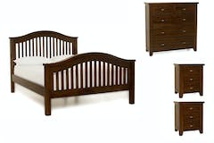Wellington Walnut | 4 Piece Set | 5ft