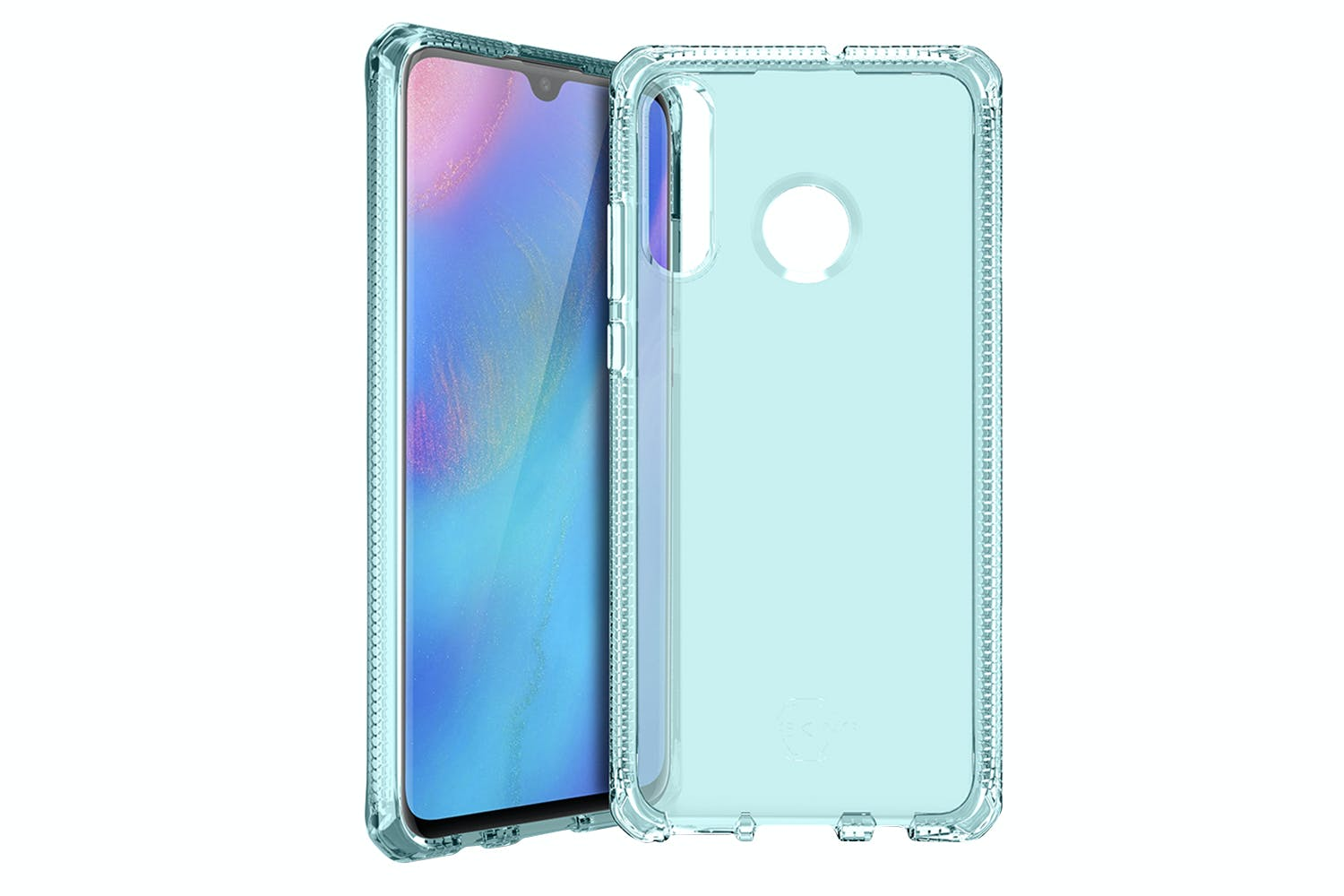 ITSkins Spectrum Huawei P30 Lite Case | Light Blue