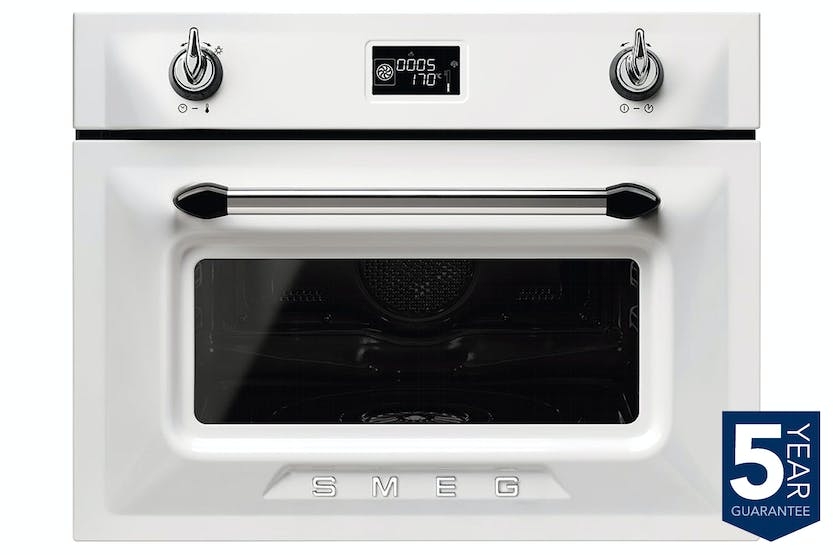 Smeg Victoria Aesthetic Steam Oven | SF4920VCB1