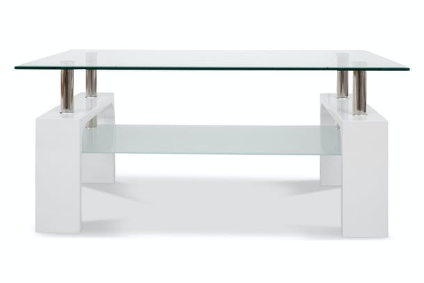 Marco Coffee Table | White Leg