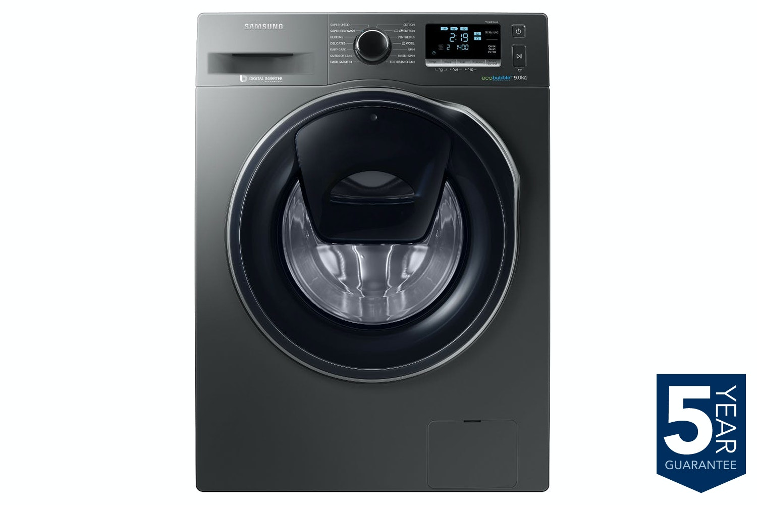 Samsung 9kg AddWash Washing Machine | WW90K5410UX/EU