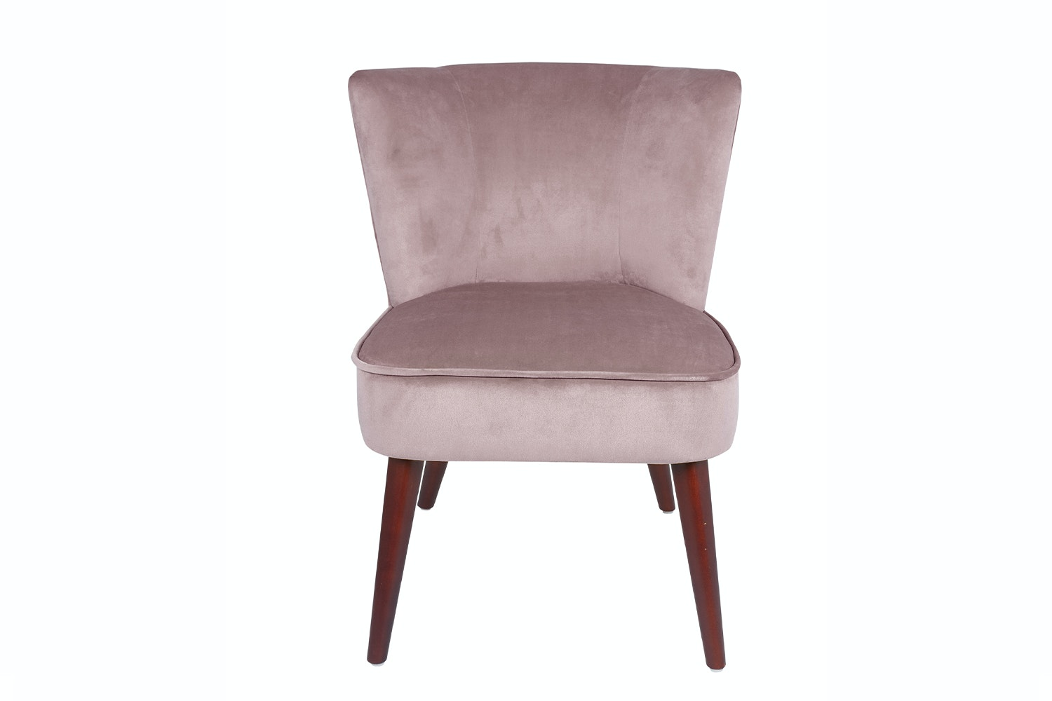Velvet Chair | Blush Pink