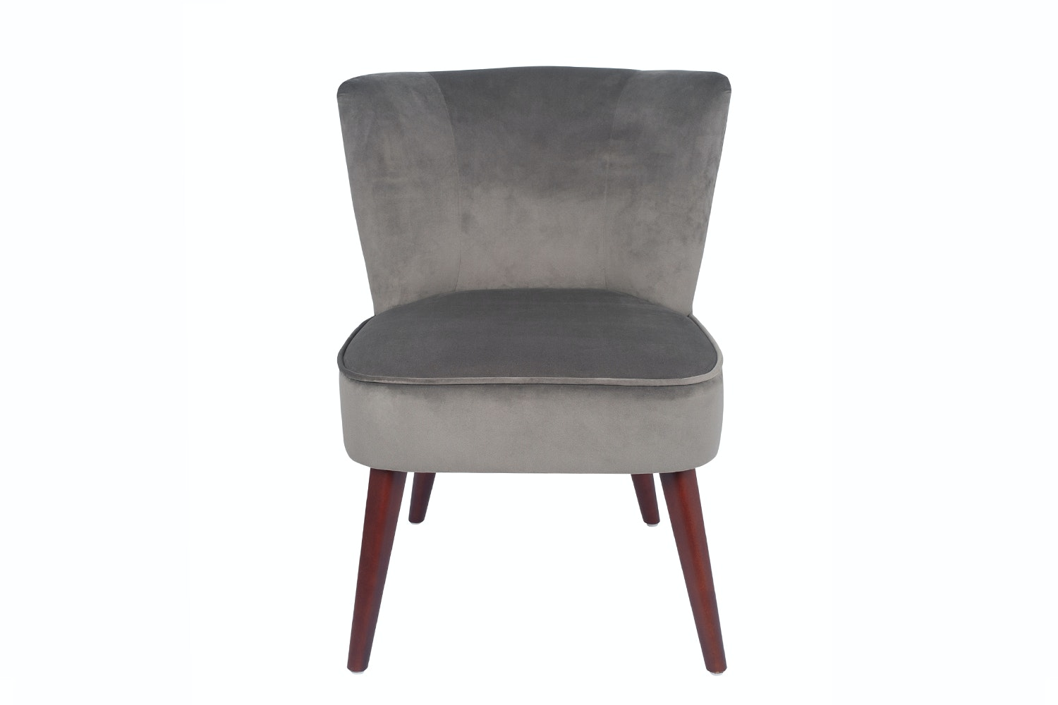 Velvet Chair | Grey
