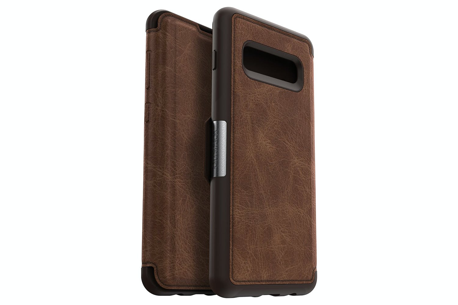 Otterbox Strada Galaxy S10+ Wallet Case | Espresso Brown