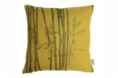 Bamboo Cushion | Ochre