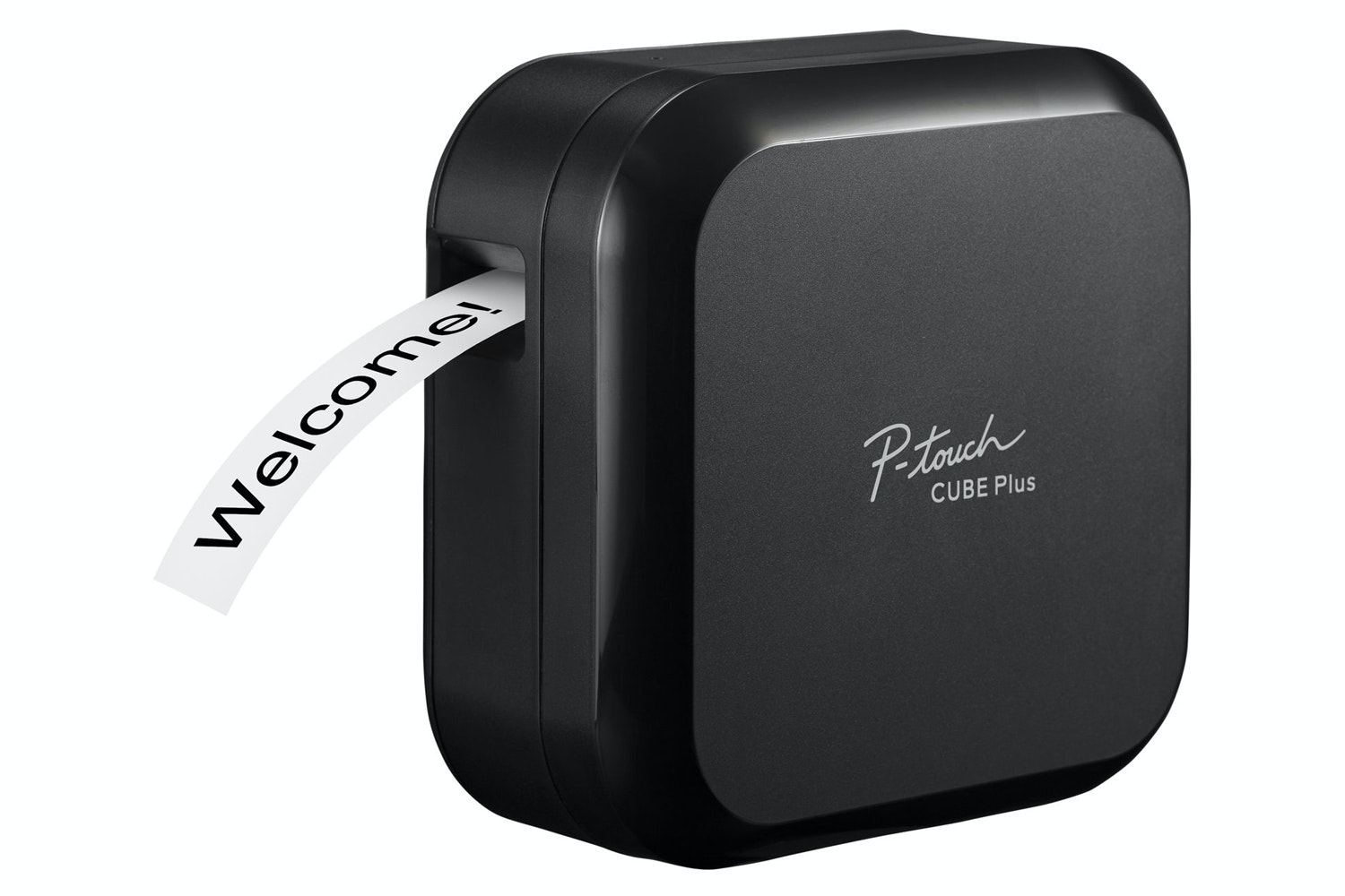 Brother P-Touch Cube Plus Bluetooth Label Printer | Black