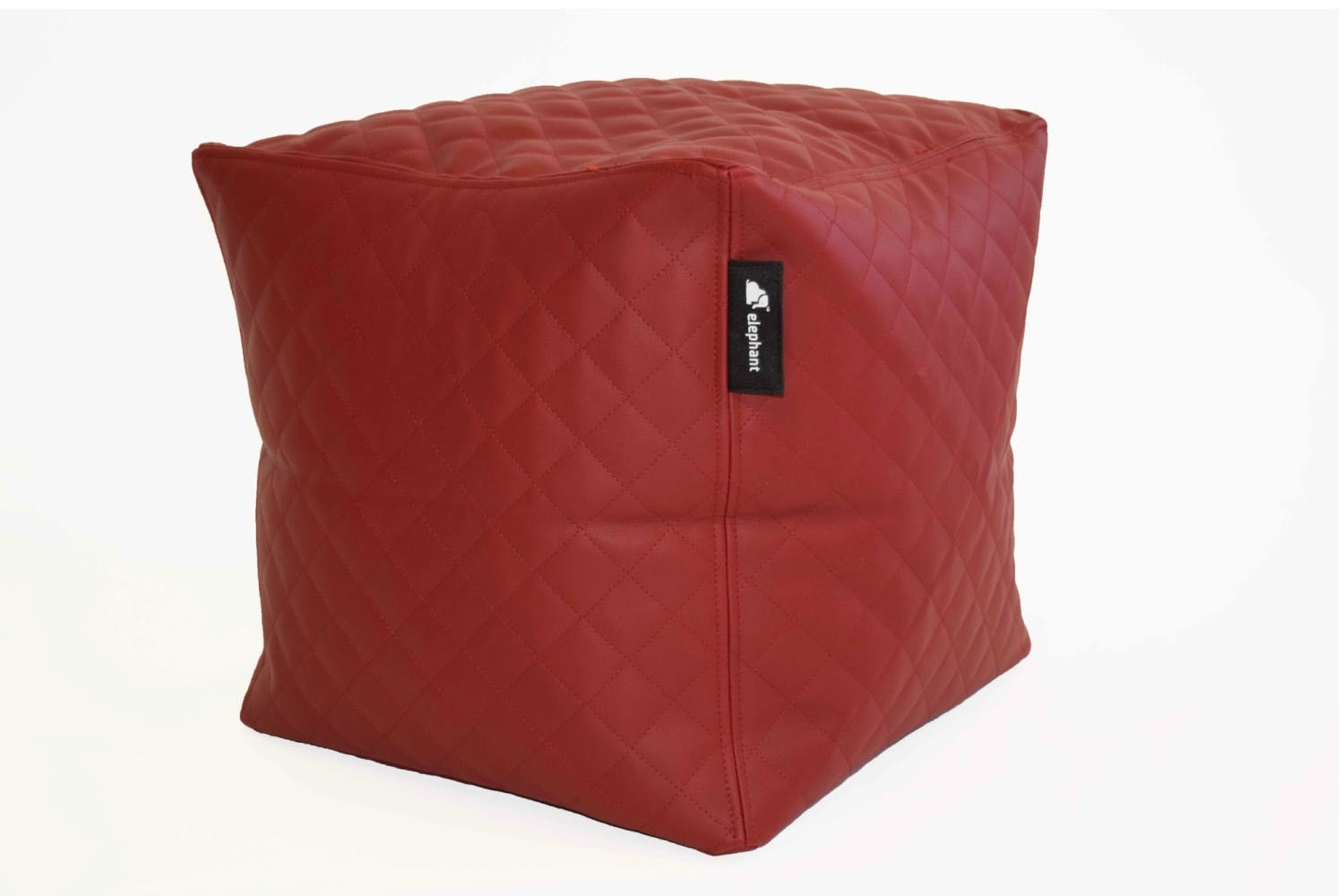 Elephant Cube Quilted | Red