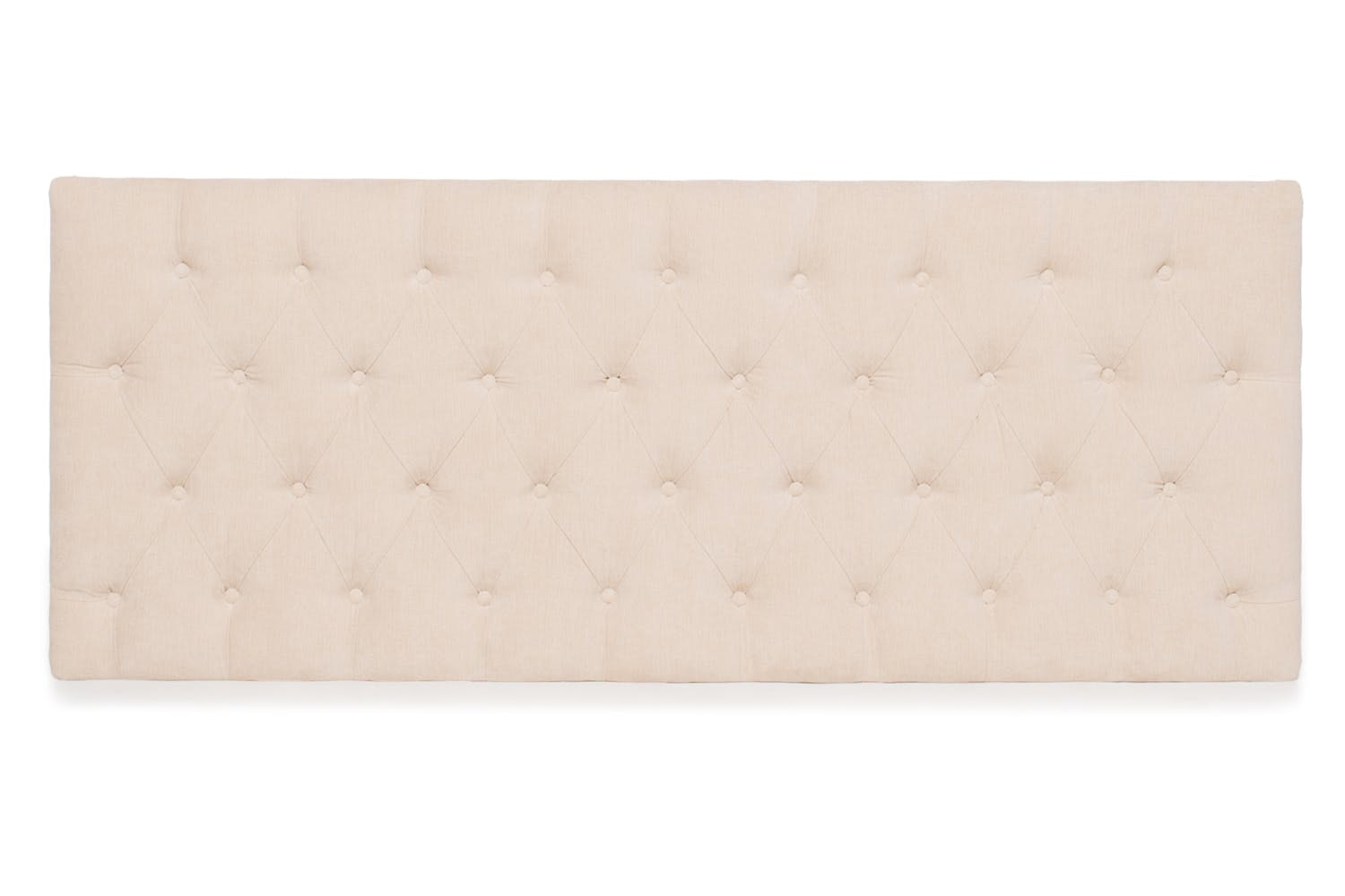 Marley Fabric Headboard | Beige | 4ft