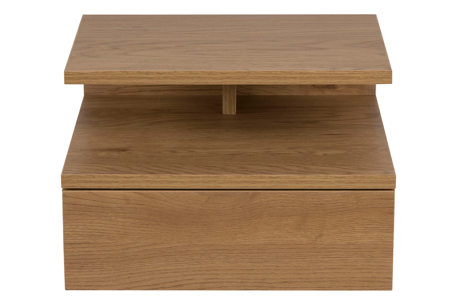 Ashlan Wall Bedside Table Wild Oak