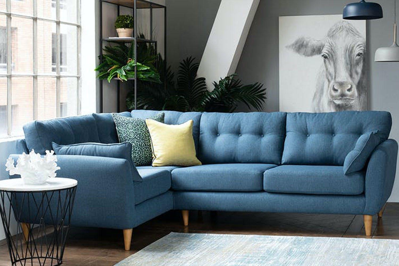Charm Corner Sofa 2 Corner 1 Blue Ireland