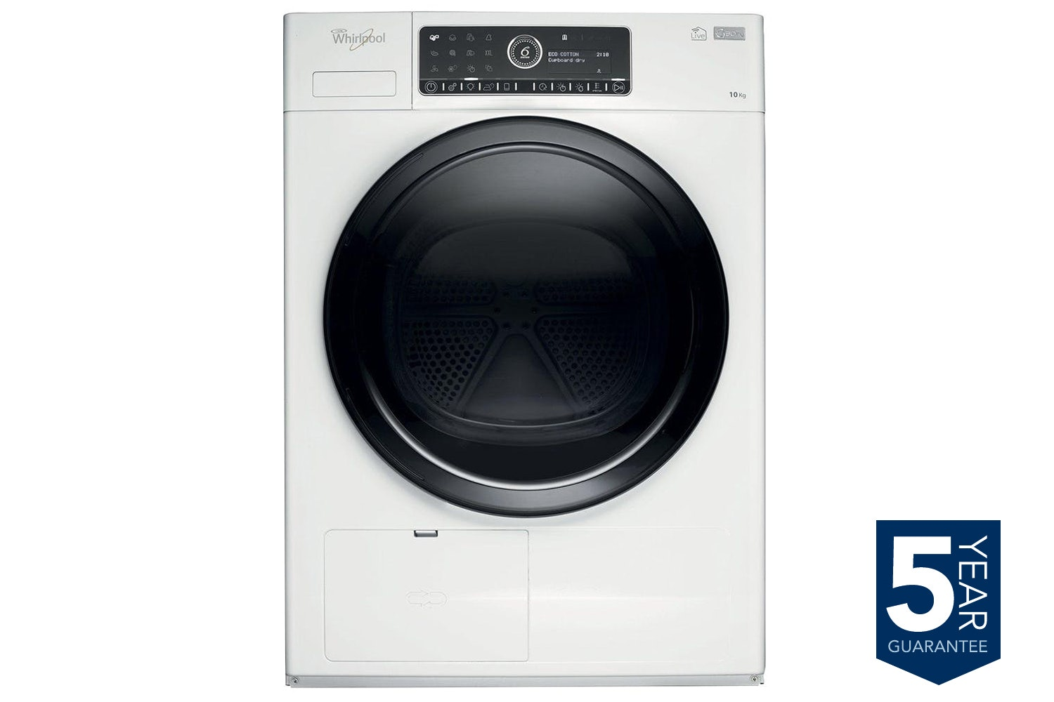 Whirlpool Supreme Care 10kg Condenser Tumble Dryer | HSCX10441