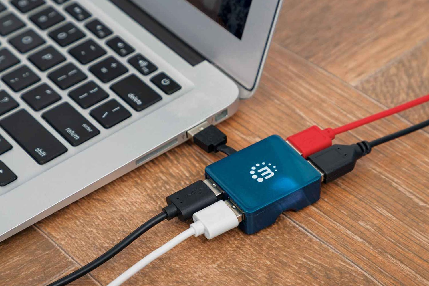 Manhattan Hi-Speed USB Micro Hub