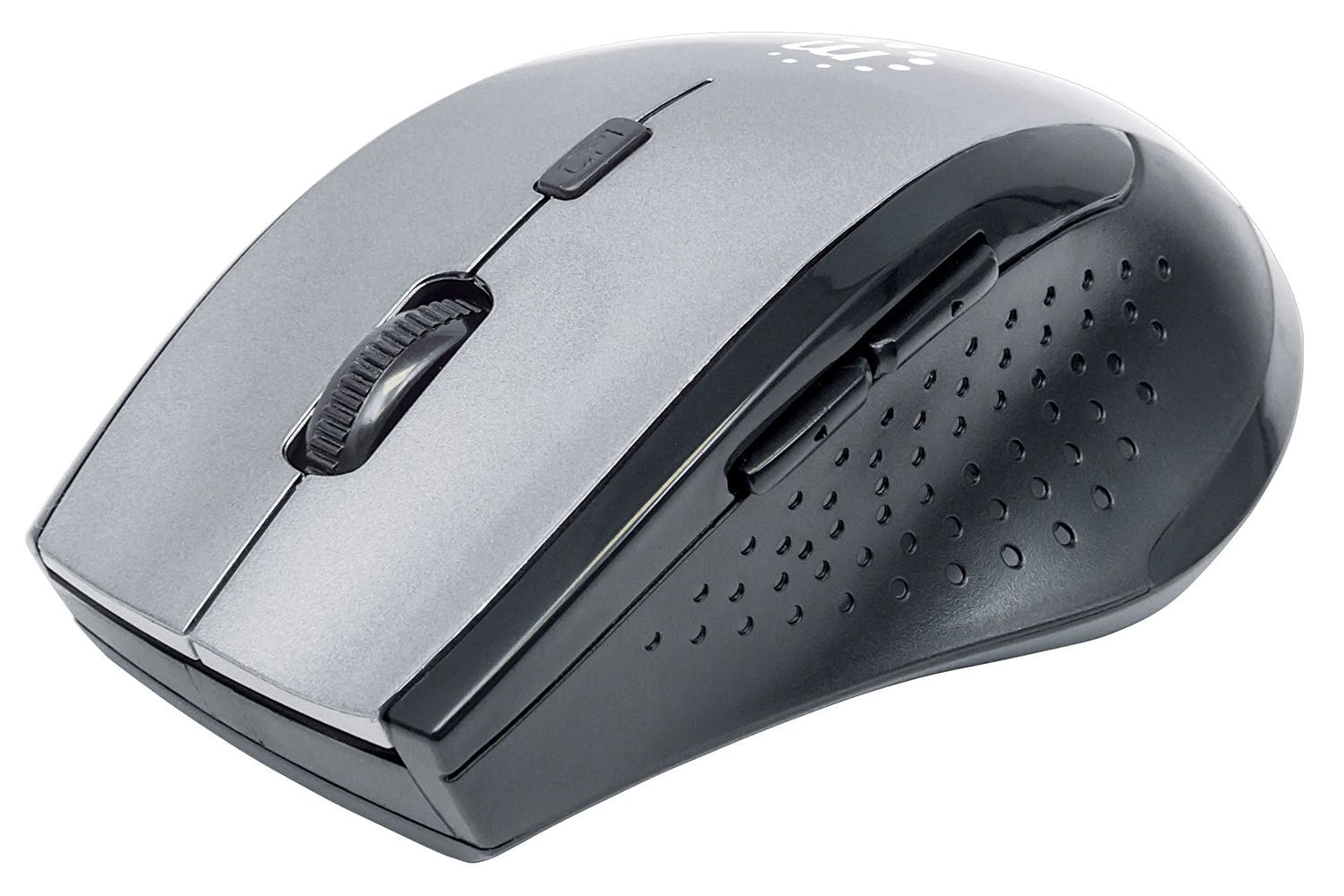 Manhattan Curve Wireless Optical Mouse | Grey